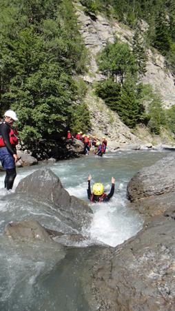 La durance rafting